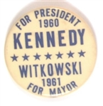 Kennedy for President, Witkowski for Mayor of Jersey City