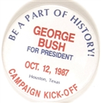 George Bush 1987 Houston Campaign Kick-Off