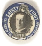 Wilson Safety First Railroad Pin
