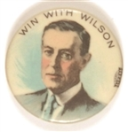 Win With Wilson Multicolor 1 1/4 Inch Celluloid