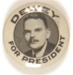 Dewey For President Sharp Picture Pin