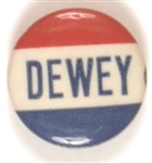 Dewey Red, White and Blue Celluloid