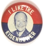 I Like Ike Eisenhower Picture Pin
