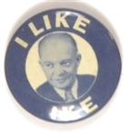 I Like Ike Blue and White Litho