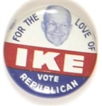 For the Love of Ike Vote President
