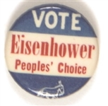Vote Eisenhower Peoples Choice