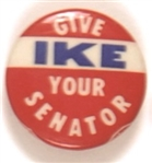 Give Ike Your Senator