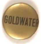 Goldwater Black and Gold Celluloid