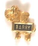 Goldwater Clutchback Elephant Pin