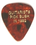 Guitarists for Bush Guitar Pick