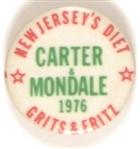 New Jersey Carter, Mondale Grits and Fritz