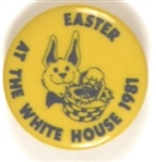 Reagan Rare Easter Egg Hunt 1981 Pin