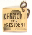 Kennedy for President Flasher Luggage Tag