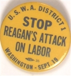 Stop Reagans Attack on Labor