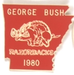 Razorbacks for George Bush 1980