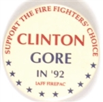 Firefighters for Clinton-Gore