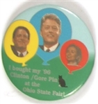 Clintons and Gore, Ohio State Fair