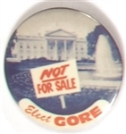 Gore White House Not for Sale