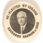 Judson Harmon Re-Elected by 100,000