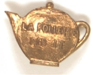 LaFollette Did It Teapot Dome Pin