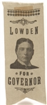 Lowden for Governor Ribbon