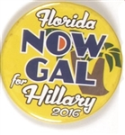 Florida NOW Gal for Hillary