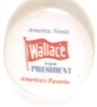 America Needs Wallace for President