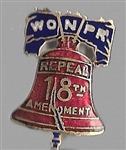 Repeal Prohibition Women Group Liberty Bell Pin