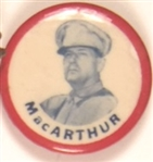 MacArthur in Uniform Red Border