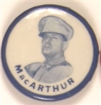 MacArthur in Uniform Blue Border