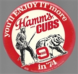 Hamms Beer and the Cubs, WGN 1974 Celluloid
