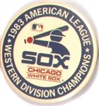 White Sox 1983 Division Champions