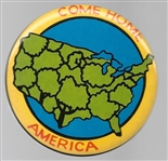 McGovern Come Home America USA Trees Celluloid