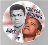 Obama-Ali Time for Another Knockout Win
