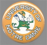 University of Notre Dame College Sports Pin