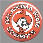 Oklahoma State College Sports Pin