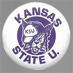 Kansas State College Sports Pin