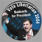 Badnarik for President Libertarian Party
