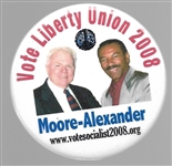 Moore, Alexander Liberty Union Party Pin