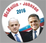 McMullin and Johnson 2016 Third Party Pin