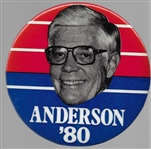 John Anderson for President 1980 Political Pin