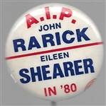 Rarick, Shearer 1980 American Independent Party