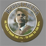 Robin Obama Gives to the 99%