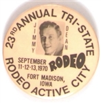 Jimmy Dean, Tri-State Rodeo 1970