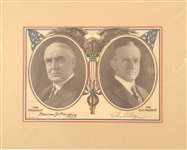 Harding-Coolidge America Always First