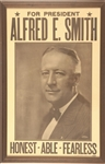 Alfred E. Smith Honest, Able, Fearless