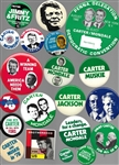 Jimmy Carter Group of 70 Pins