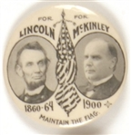 McKinley-Lincoln Maintain the Flag
