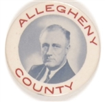Allegheny County for Franklin Roosevelt