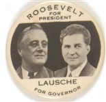 Roosevelt and Lausche Ohio Coattail